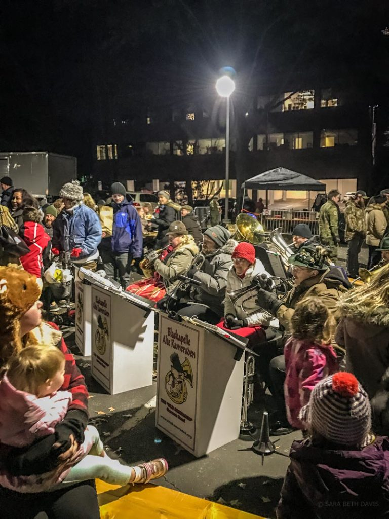 german armed forces command christkindlmarkt band