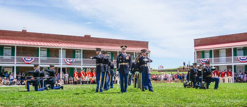 US Army Drill Team The Old Guard