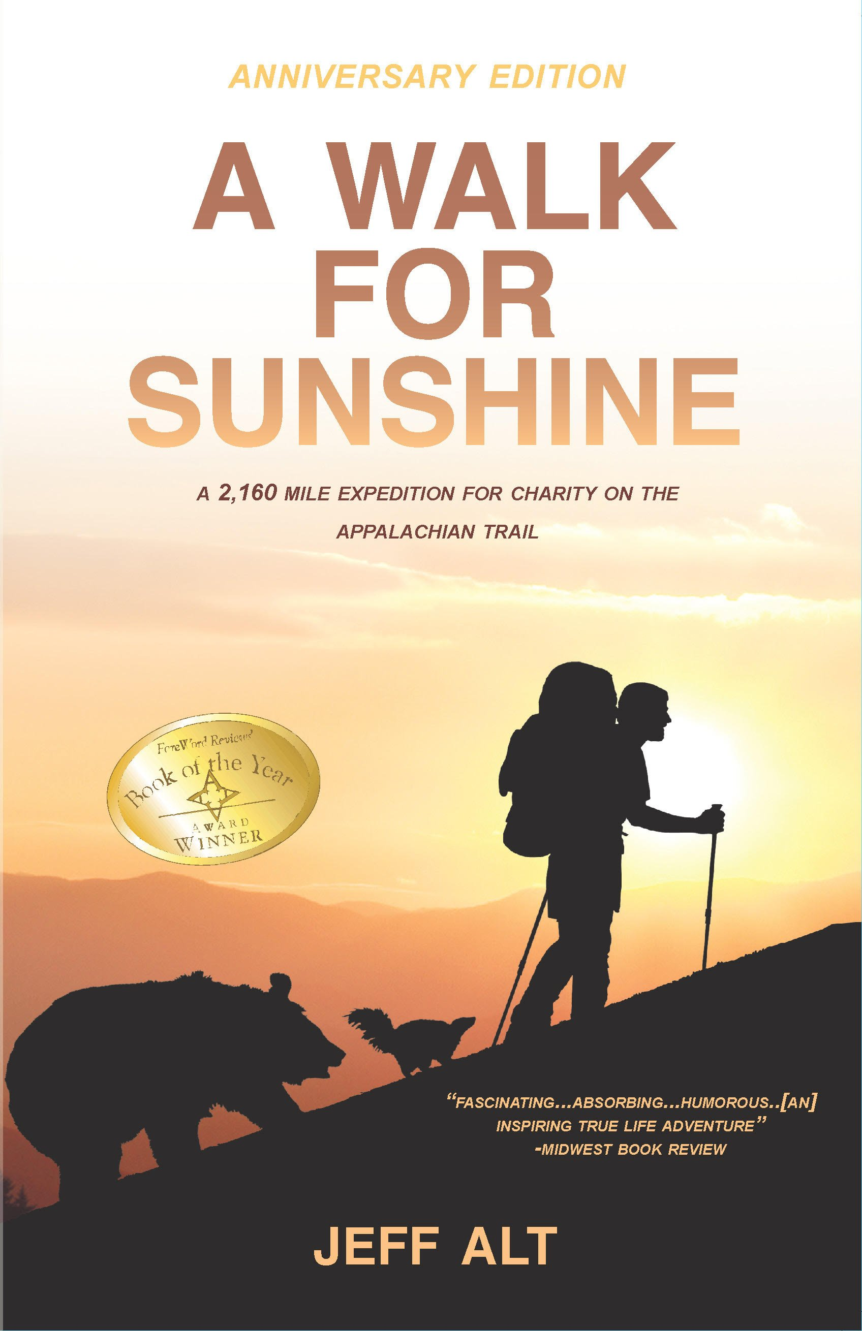 review of a walk for sunshine by jeff alt