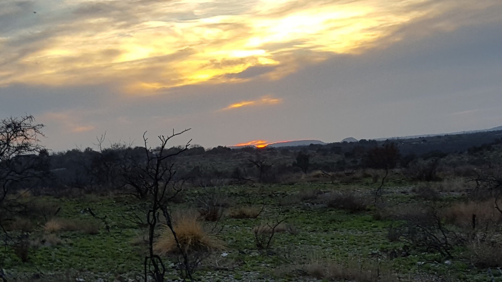 Sunset in San Angelo State Park // Copyright by Richard Horton II // Used with permission.